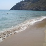 Moře a pláže v Řecku, žraloci