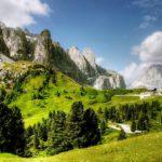 Letní dovolená v Dolomitech