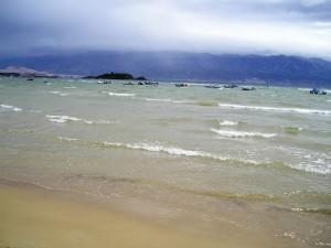 Ráb - pláž
