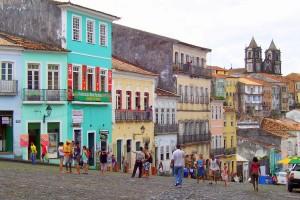 Bahia - Brazílie - město