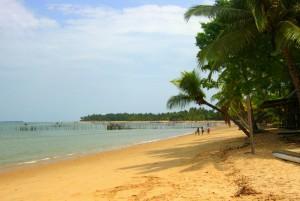 Bahia - Brazílie - pláž