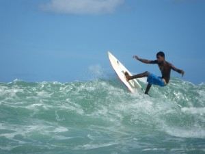 Bahia - Brazílie - surfování