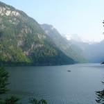 Orlí hnízdo a jezero Konigsee